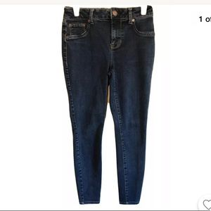 MAURICES High-Rise Jegging Jean Dark Size Small
